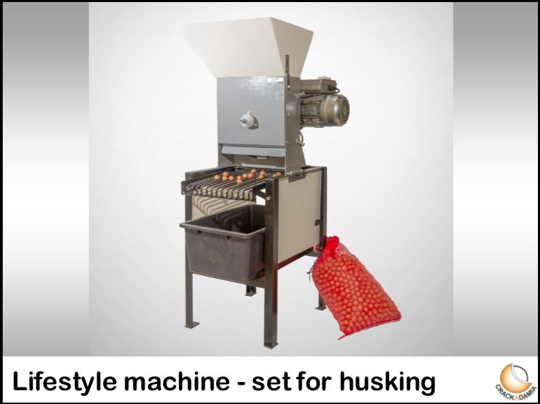 Lifestyle machine - set for husking